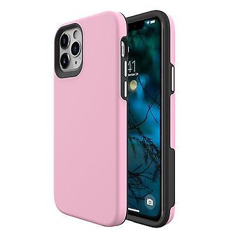 IPhone 12 Pro/12 tok esetén az ütésálló védőburkolat rózsaszín