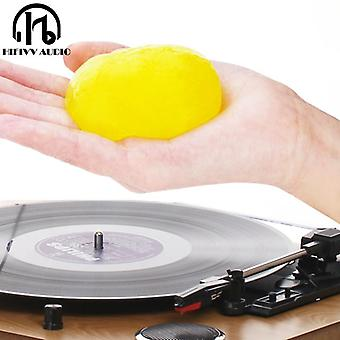 Super Clean Slimy Gel For Lp Vinyl Record Keyboard, Soft Rubber Turntable