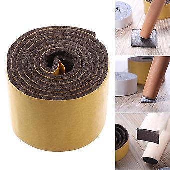 Anti-slip Felt Furniture Leg Pad Self-adhesive Mat Floor Protector Wear-resisting Table Sofa Leg Chair Fittings