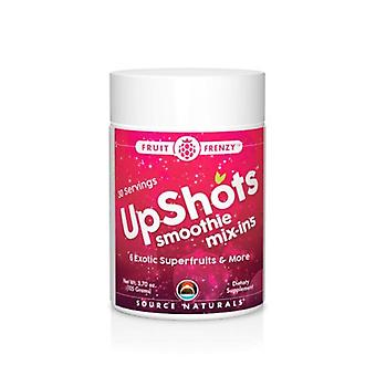 Source Naturals Upshots Smoothie Mix-Ins Fruit Frenzy, 3.7 Oz