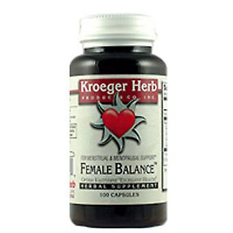 Kroeger Herb Female Balance, Caps 100