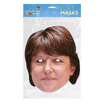 Masque-arade Martine Aubry Masque du parti