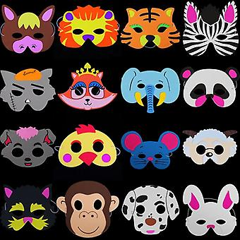 Cute Eva Foam Animal Mask, Cartoon Hats
