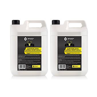 Ceramic Waterless Wash & Wax Renault F1 2 X 5L Hydrolex Protection