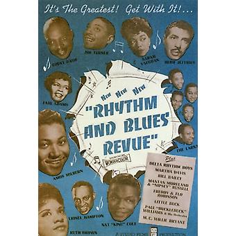 Rhythm and Blues Revue Movie Poster Print (27 x 40)