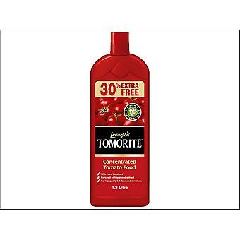 Levington Liquid Tomorite 1L + 30% Fre