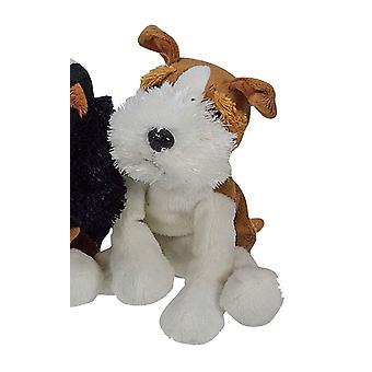 Toy Home Dog Beany Plush White Fox Terrier
