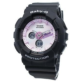 Casio Baby-g Analog Digitaalinen Ba-120t-1a Ba120t-1a Maailmanaika kvartsi Naiset's Watch