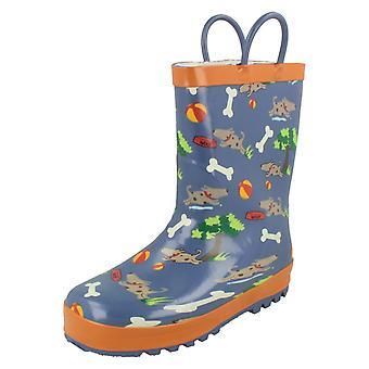 "Gutter Startrite Warmlined gummistøvler ""Walkies"""