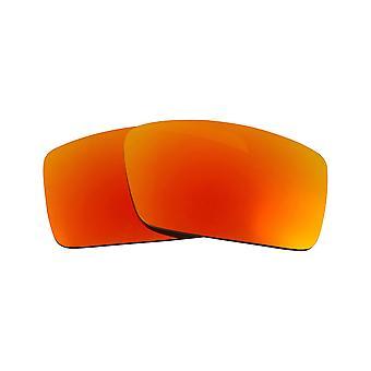 Polariserade ersättningslinser för Oakley Gascan S solglasögon Anti-Scratch Red