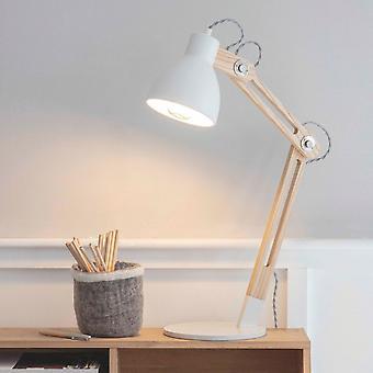 Lampe de bureau d'aîné de commerce de jardin dans Lily White
