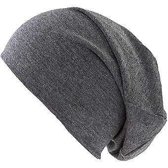 Donkergrijze trui muts voor mannen en vrouwen