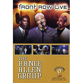 Allen, Rance Group - Front Row Live [DVD] USA import