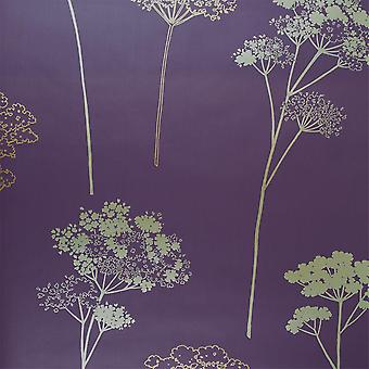30-027 Dulux Plum Gold Copper Leaf