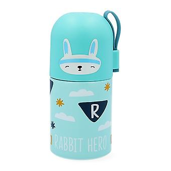 Travel thermos flask Quid Rabit Go Hero Multicolour Stainless steel 0