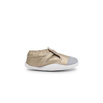BOBUX Fourrure doublée de chaussures de croisière Or