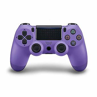 Dual Vibration Bluetooth Wireless Controller for PS4 Purple
