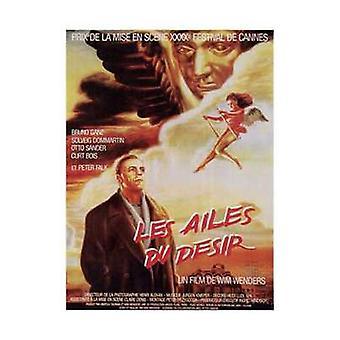 Крылья желания плакат фильма (11 x 17)