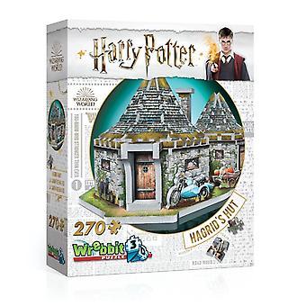Wrebbit 3D Harry Potter Hagrid's Hut - 270 Pieces