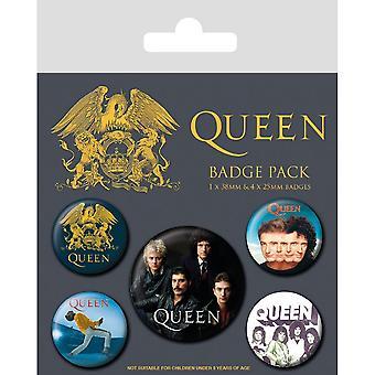 Queen Classic Abzeichen Set (Packung mit 5)