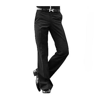 Mens Flared Trousers, Formal Pants, Male Bell Bottom Suit Pant
