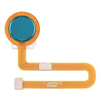 Sensor de impressão digital para Nokia 7.2 TA-1193 TA-1178 TA-1196 TA-1181 TA-1200 TA-1198 TA-1201 TA-1187 Parte reserva do botão doméstico azul