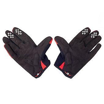 Eigo Huron Cycling Gloves Full Finger Red