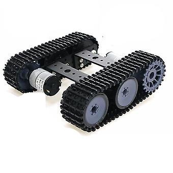 Unassembled Smart Crawler Robot Education Mini Tp100 Metal Rc Tank Chassis Kit