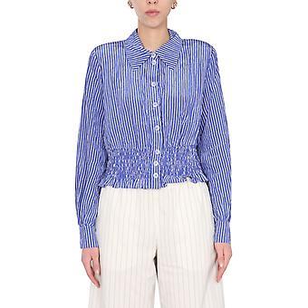 Baum Und Pferdgarten 21587c7751 Women's Blue Viscose Shirt