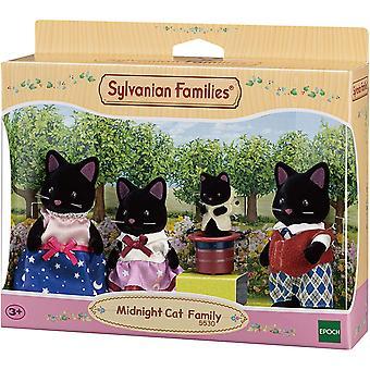 Familles sylvaniennes Famille chat de minuit