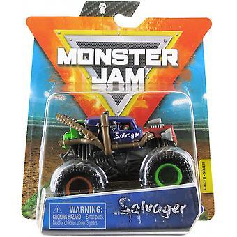 Monster truck Monster Jam Salvager 1:64 Black
