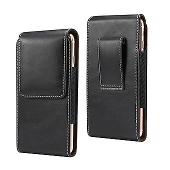 New Design Vertical Leather Holster with Belt Loop for Sony Xperia XZ-Premium