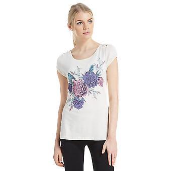 Nieuwe Peter Storm Women's Birdy korte mouw T-shirt crème