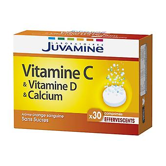 Vitamin C + Calcium + Vitamin D 30 effervescent tablets