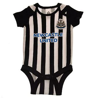 Newcastle Förenade FC Baby Bodysuit (Pack of 2)