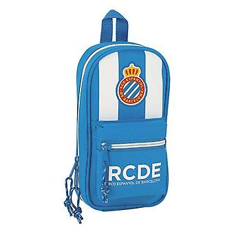 Backpack pencil case rcd espanyol blue white (33 pieces)