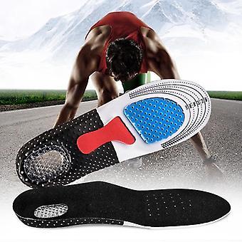1 间空中性软硅胶蜂巢按摩鞋垫运动跑步