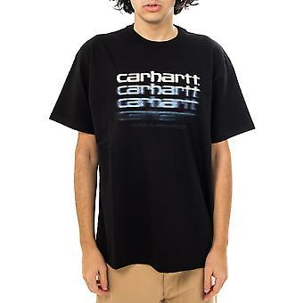 Camiseta para hombre carhartt wip s/s camiseta de guión de movimiento i029013.89