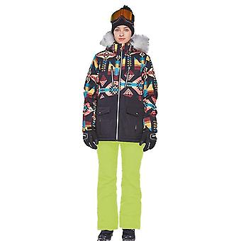 Winter Ski Set, Waterproof Women's Outdoor Snowboard Jacket Snow Pants