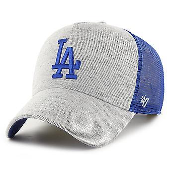 47 Brand Trucker Cap - STORM CLOUD Los Angeles Dodgers heide