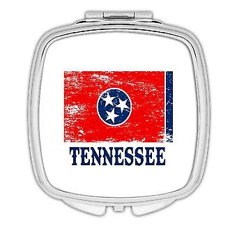 Gift Compact Mirror: Tennessee Flag