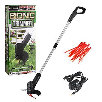 Cordless Electric Lawn Mower Rechargeable Handheld Trimmer Weeder
