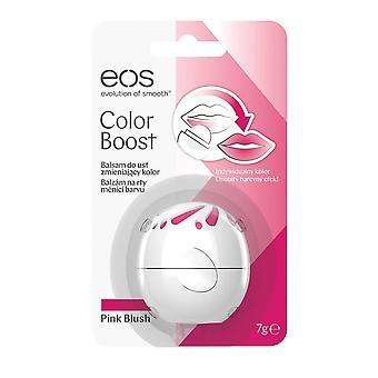 EOS Evolution of Smooth Lip Balm Sphere Beurre de karité 7g Pink Boost