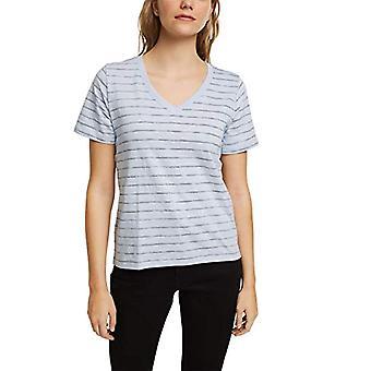 edc by Esprit 011CC1K313 T-Shirt, 445/Lavender Light Blue, XS Woman