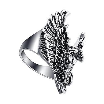 Sterling Silver Rose Gold Owls Ring Animal Owl Jewelry Gifts For Women