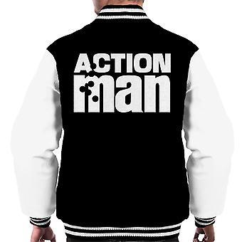 Action Man Logo Men's Varsity Jacket