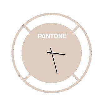 PANTONE Montre Drive Couleur Sable, Blanc, en Métal L40xP0,15xA40 cm