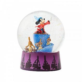 Disney Traditions Stregone Mickey & Brooms Palla d'acqua