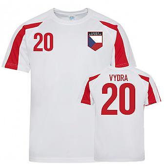 Czech Republic Sports Training Jersey (Vydra 20)