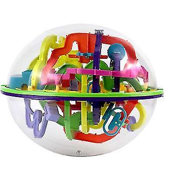 22*18Cm 299 levels challenge orbit maze ball game 3d maze ball children's educational toys magic maze ball az22401